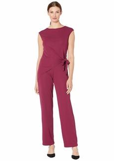 Ralph Lauren Side-Tie Jersey Jumpsuit