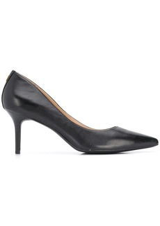 Ralph Lauren signature leather look pumps