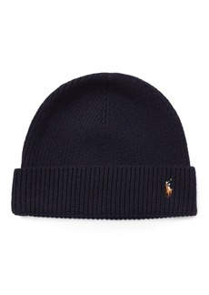 Ralph Lauren Signature Pony Wool-Blend Hat
