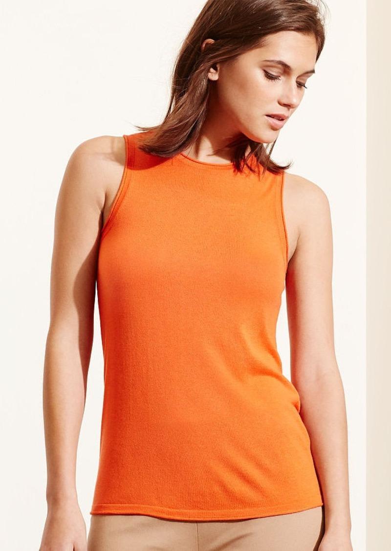 Ralph Lauren Silk-Blend Sleeveless Sweater