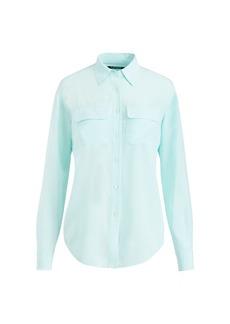 Ralph Lauren Silk Button-Down Shirt