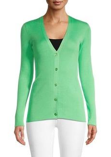 Ralph Lauren Silk Cardigan Sweater
