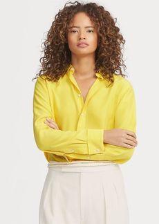Ralph Lauren Silk Crepe Shirt