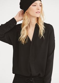Ralph Lauren Silk Georgette Shirt