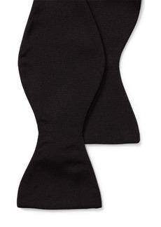 Ralph Lauren Silk Grosgrain Bow Tie
