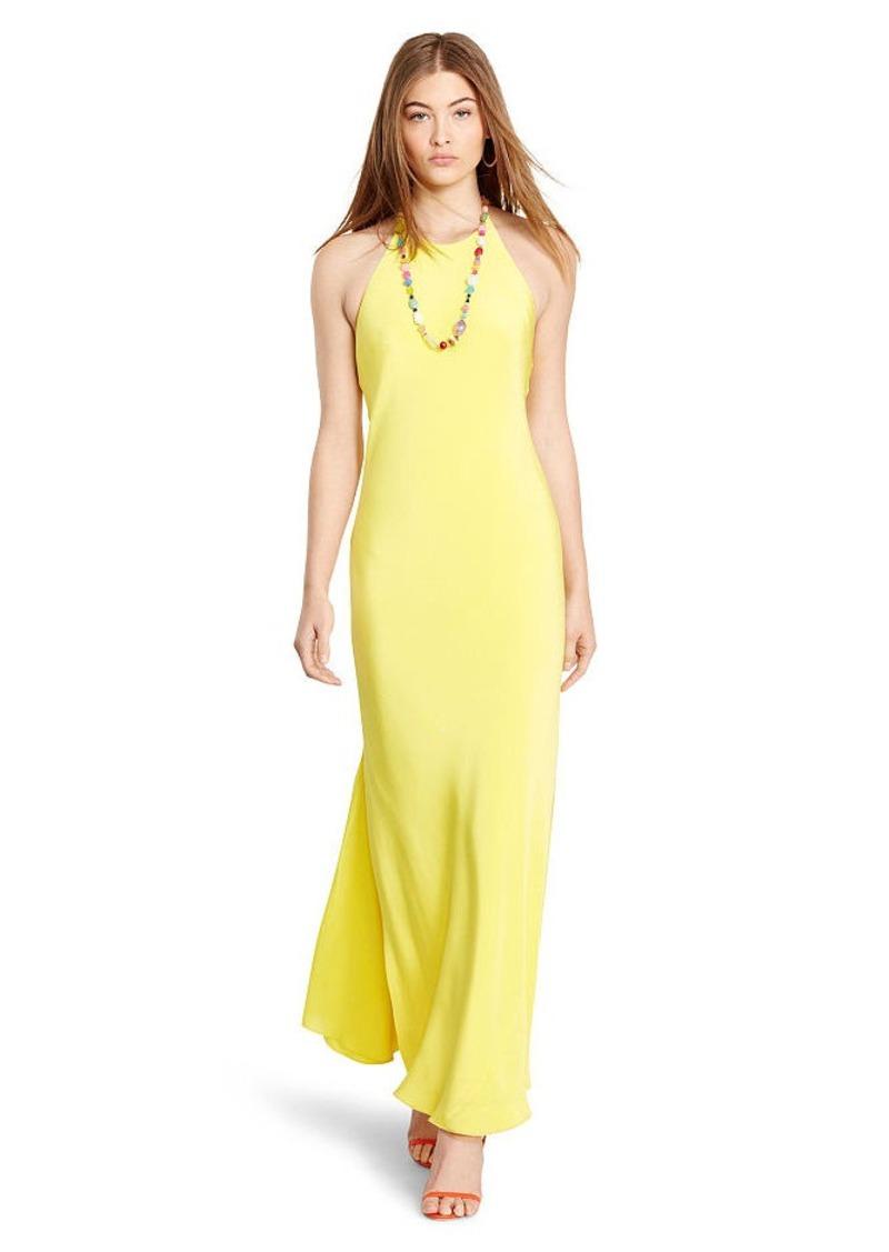 Ralph Lauren Silk Halter Dress