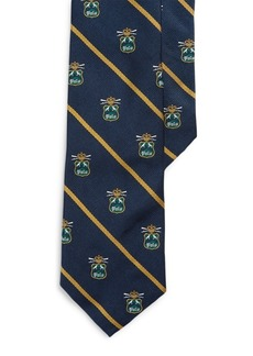 Ralph Lauren Silk Narrow Club Tie