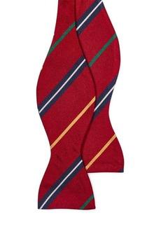 Ralph Lauren Silk Repp Bow Tie