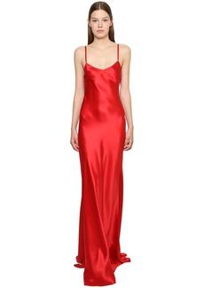 Ralph Lauren Silk Satin Long Slip Dress