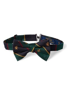 Ralph Lauren Silk Twill Club Bow Tie