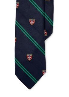 Ralph Lauren Silk Twill Club Tie