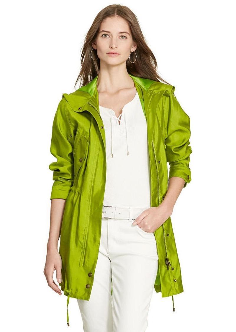 Ralph Lauren Silk Utility Jacket