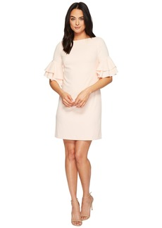Ralph Lauren Silvana Luxe Tech Crepe Dress