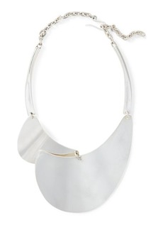 Ralph Lauren Silver-Plated Bib Necklace