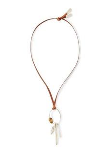 Ralph Lauren Silver-Plated Pendant Necklace