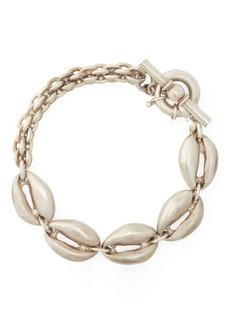 Ralph Lauren Silver-Plated Shell Bracelet