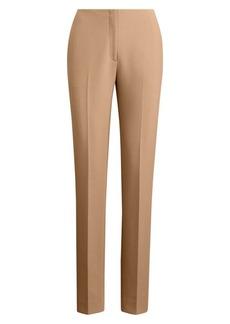 Ralph Lauren Simone Double-Face Crepe Pants