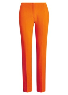 Ralph Lauren Simone Stretch-Wool Pants