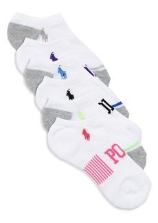Ralph Lauren Six-Pack Polo Ankle Socks