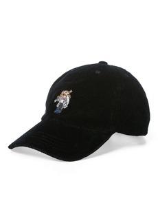 Ralph Lauren Ski Bear Baseball Cap