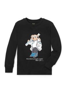 Ralph Lauren Ski Bear Cotton Jersey T-Shirt