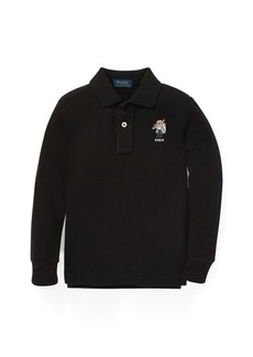 Ralph Lauren Ski Bear Cotton Mesh Polo