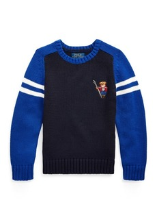 Ralph Lauren Ski Bear Cotton Sweater