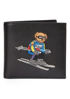 Ralph Lauren Ski Bear Leather Billfold