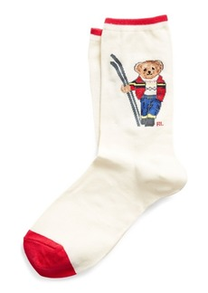 Ralph Lauren Ski Bear Trouser Socks