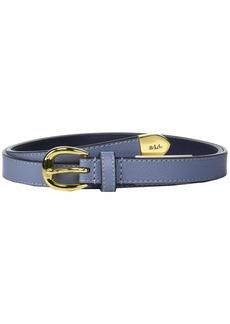 Ralph Lauren Skinny Bennington Belt
