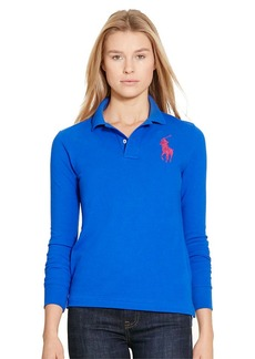 Ralph Lauren Skinny Fit Big Pony Polo