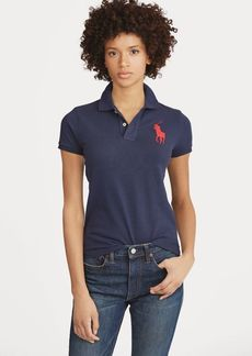 Ralph Lauren Skinny Fit Big Pony Polo Shirt