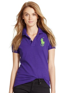 Ralph Lauren Skinny-Fit Big Pony Polo Shirt