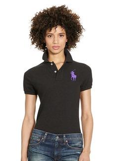 Ralph Lauren Skinny-Fit Big Pony Polo Shirt