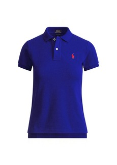 Ralph Lauren Skinny Fit Cotton Mesh Polo