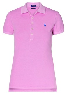 Ralph Lauren Skinny Fit Stretch Mesh Polo