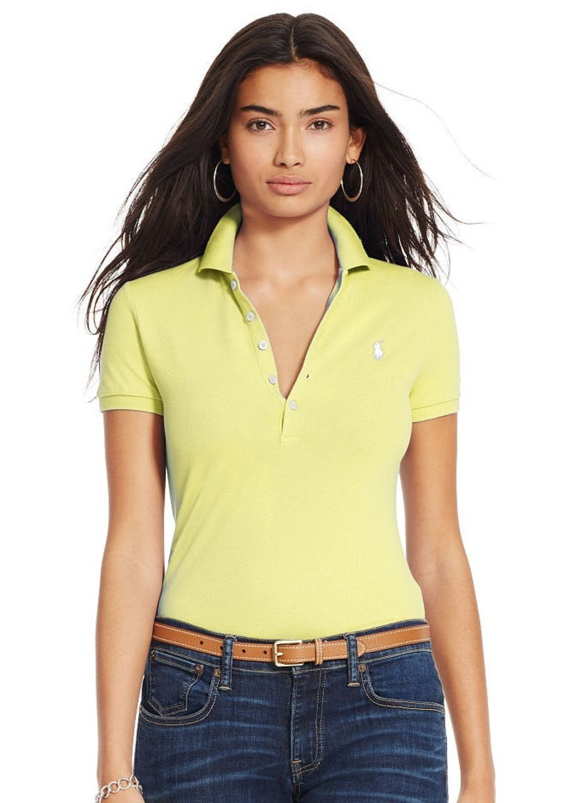 Ralph Lauren Skinny-Fit Stretch Polo Shirt