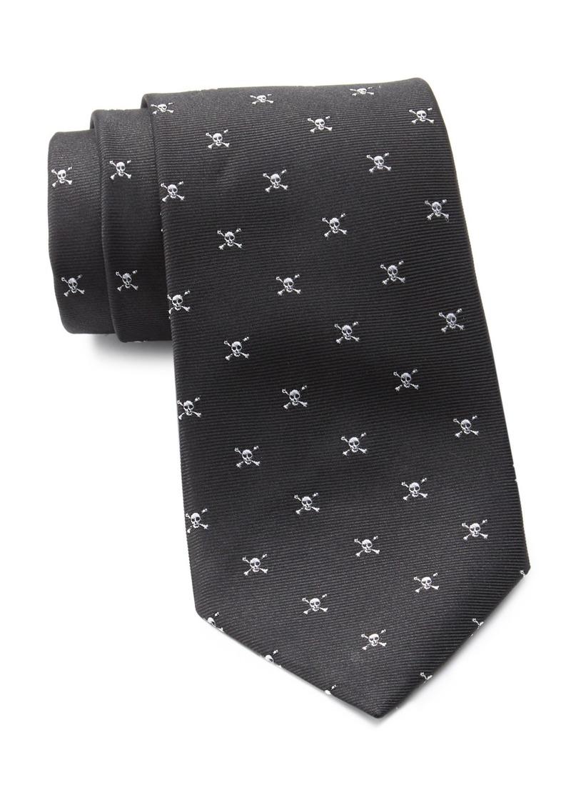 Ralph Lauren Skull Neat Silk Tie