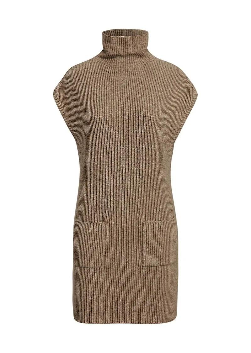 Ralph Lauren Sleeveless Cashmere Dress