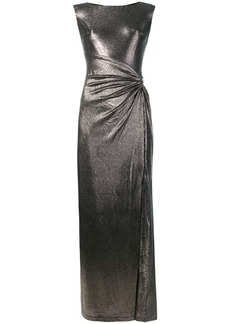 Ralph Lauren sleeveless draped dress