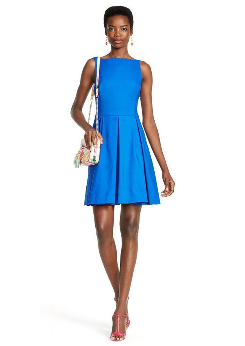 Ralph Lauren Sleeveless Pleated Dress