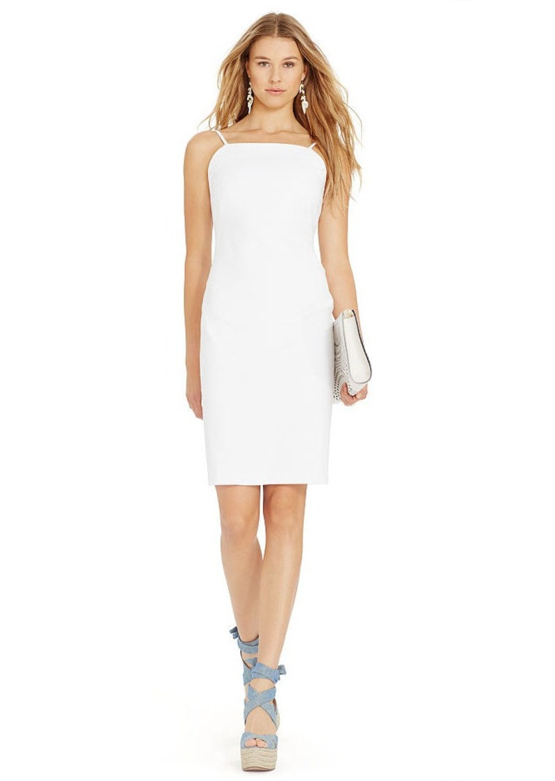 Ralph Lauren Sleeveless Sheath Dress