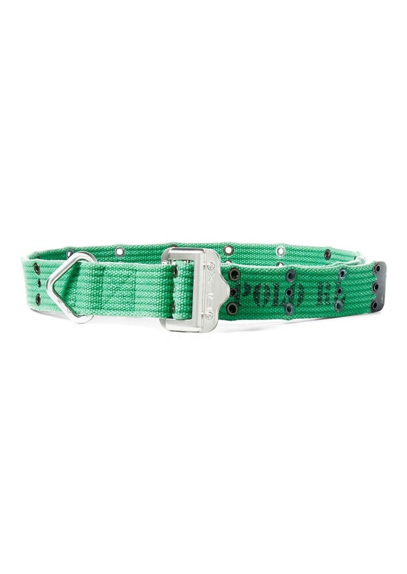 Ralph Lauren Slider-Buckle Webbed Belt