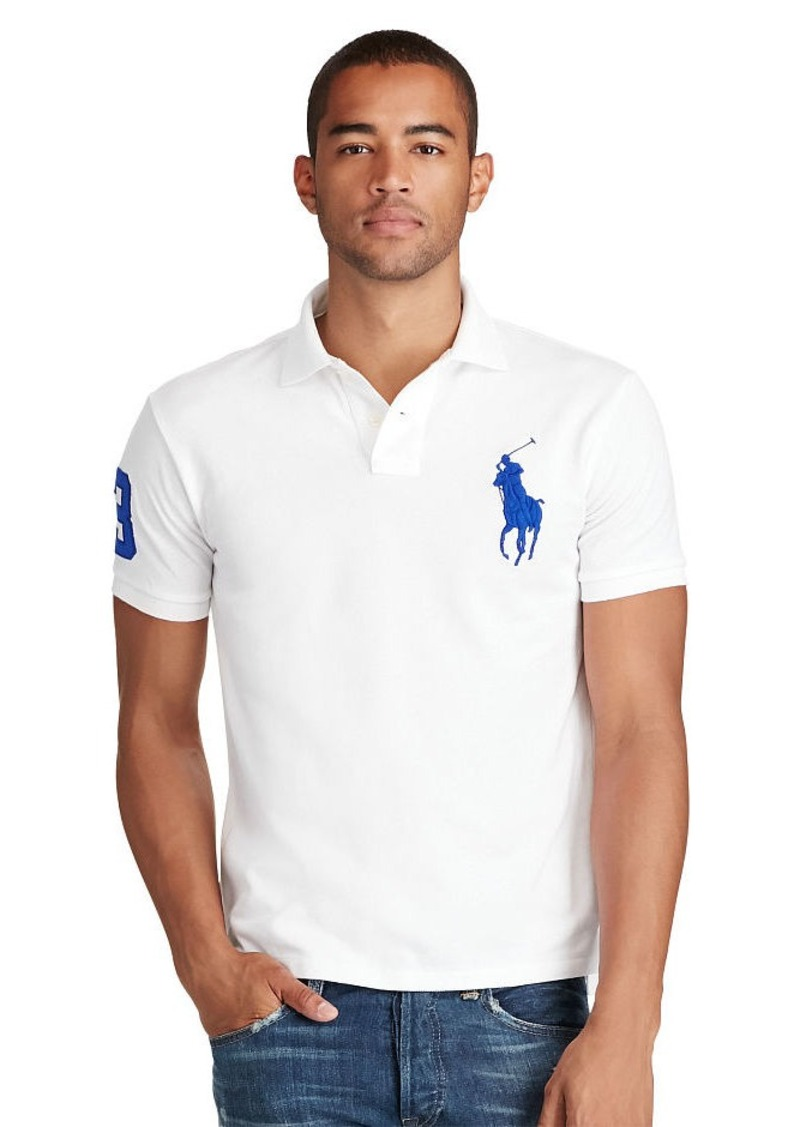 Ralph Lauren Slim-Fit Big Pony Polo Shirt