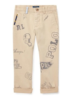 Ralph Lauren Slim Fit Cotton Graphic Chino