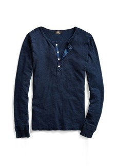 Ralph Lauren Slim Fit Cotton-Linen Henley