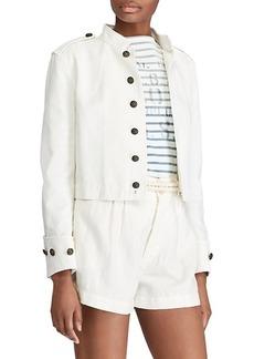 Ralph Lauren Slim Fit Cotton Officer's Jacket