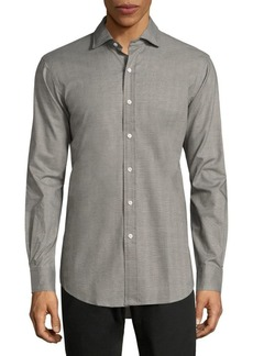 Ralph Lauren Slim-Fit Cotton Twill Button-Down Shirt