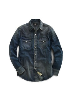 Ralph Lauren Slim Fit Denim Western Shirt