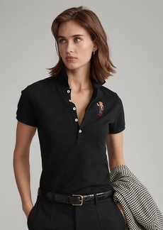 Ralph Lauren Slim Fit Embroidered Polo